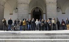 Minuto de silencio en Cáceres en repulsa por la violencia de género