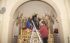 San Roque quiere lucir un año más a su Borriquita