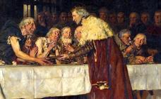 El banquete del rey y los trece pobres