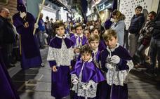 Tres procesiones coincidirán por primera vez en Badajoz en la tarde del Jueves Santo
