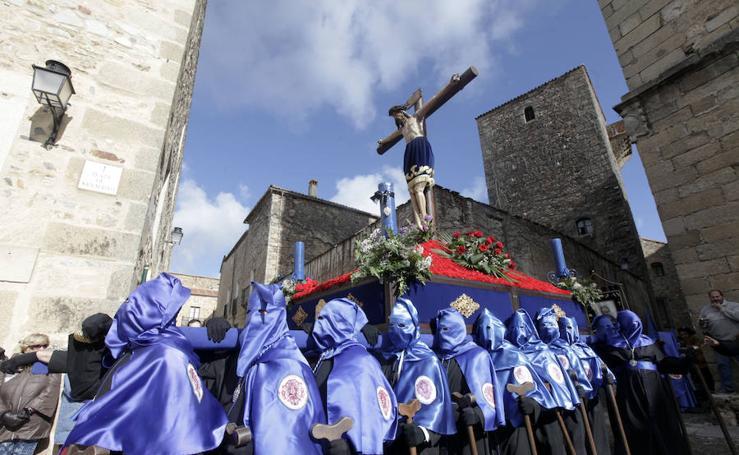 Procesiones del Viernes Santo en Cáceres