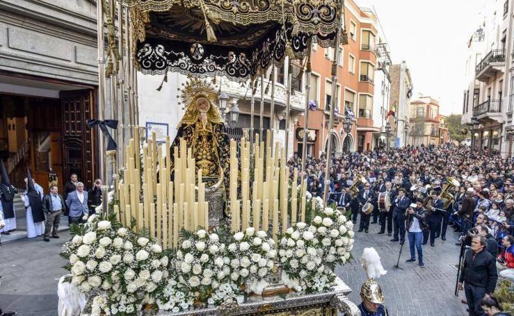 Procesiones del Jueves Santo en Badajoz