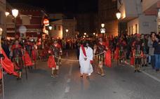 La Pasión Viviente talayuelana se estrena con mucho público