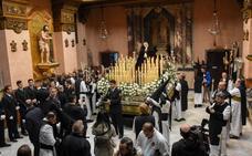Viernes Santo en Badajoz: Lágrimas en San Agustín y silencio para La Soledad y El Cristo de la Victoria