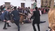 Accidentado Domingo de Resurrección en Arroyo de San Serván