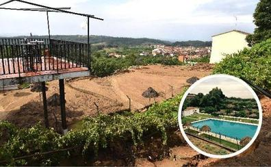 Casi 300.000 euros para reparar la piscina de Valverde de la Vera que fue arrasada por el lodo