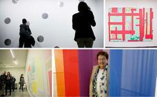 El minimalismo y la energía de Mitsuo Miura llenan el centro Helga de Alvear