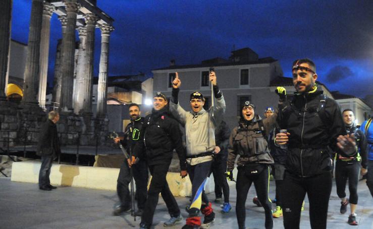 Las millas romanas congregan a casi 1.000 personas