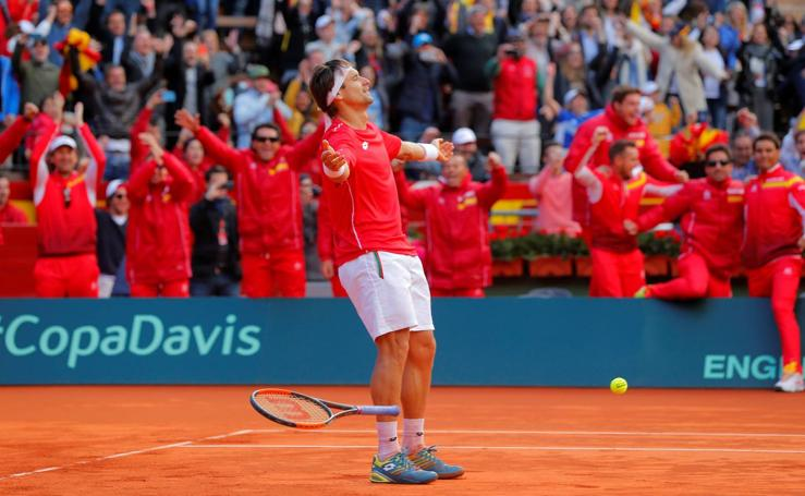David Ferrer-Philipp Kohlschreiber, en imágenes
