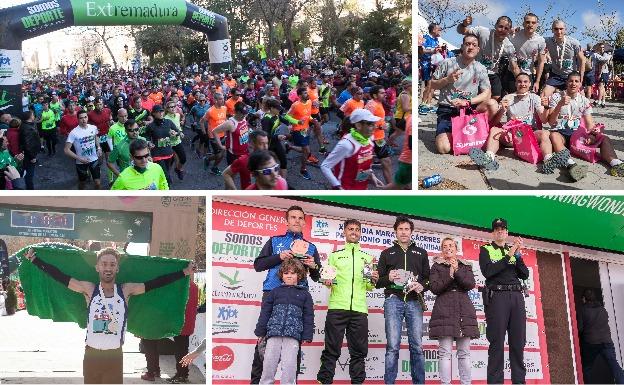 La media maratón de Cáceres, en imágenes