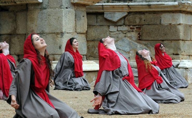 Comienza el XXII Festival Juvenil Europeo de Teatro Grecolatino
