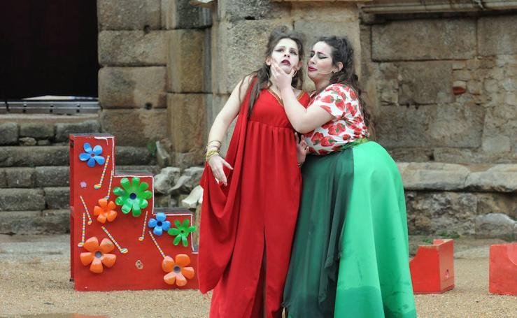 Segundo día del Festival Juvenil Europeo de Teatro Grecolatino de Mérida