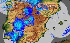 Cinco localidades extremeñas, entre las más lluviosas de España este martes
