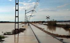 Los daños de la crecida del Ebro, a vista de pájaro