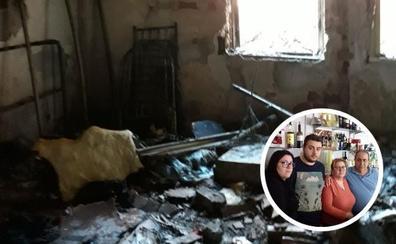 Aldeanueva, Losar y Robledillo, unidos para ayudar a las víctimas de un incendio