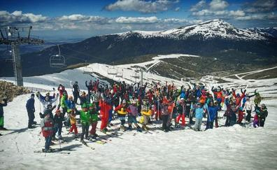 Abril despide una temporada de ensueño en Valdesquí