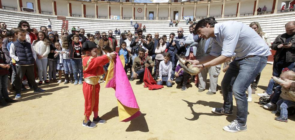 La Escuela Taurina presume de cantera en la Era de los Mártires