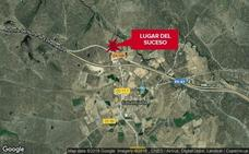 Fallece el motorista herido tras salirse de la vía en la EX-108, en Casatejada