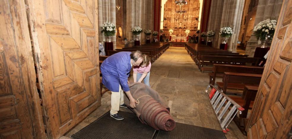 Sin misas por limpieza general