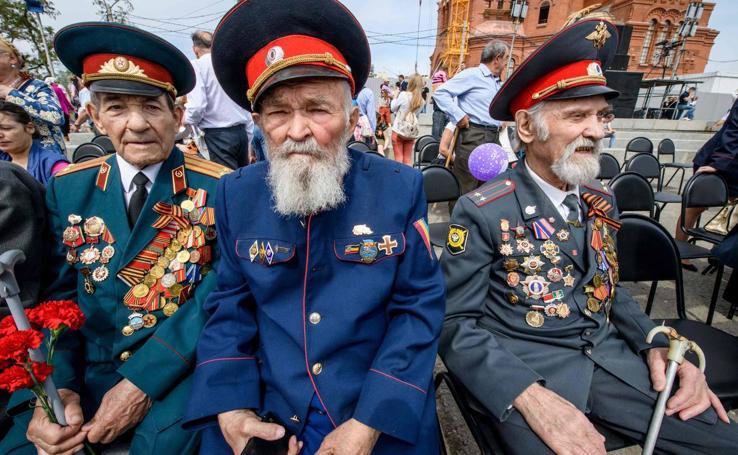 73º aniversario de la victoria de la Unión Soviética en Segunda Guerra Mundial