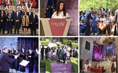 La entrega del premio Carlos V convierte a Yuste en altavoz contra los nacionalismos