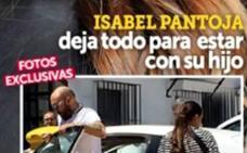 Kiko Rivera sale de su casa para acudir al médico junto a su mujer, Irene Rosales