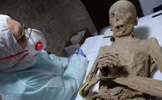 Las misteriosas momias de Toledo se expondrán al público