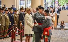 La Comandancia acoge la celebración del 174 aniversario de la Guardia Civil