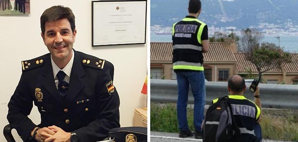 El pacense Joaquín Llanos Jociles, el policía que sabe negociar