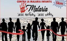 Marcha solidaria contra la malaria el domingo en Badajoz