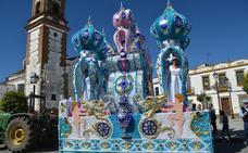 'El sueño del zar' gana el primer premio de carrozas en Bodonal de la Sierra