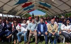 Ibarra, protagonista del Día de la Rosa del PSOE extremeño