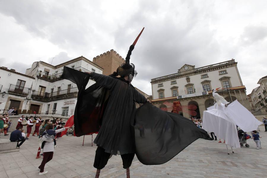 Clausura del X Festival de las Aves de Cáceres