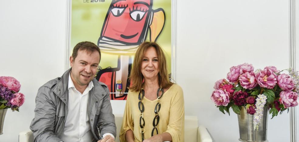 Estreno en la Feria del libro de Badajoz con los autores del momento