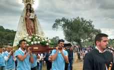 Casas de Millán celebra la romería de Tebas