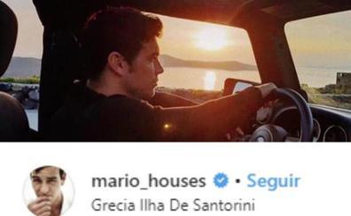 Blanca Suárez y Mario Casas, de escapada en Santorini