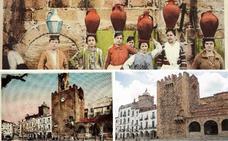 Enloquecido por una postal de Cáceres del francés Roisin