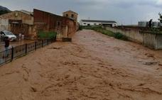 Arroyo de San Serván se vuelve a inundar por las lluvias