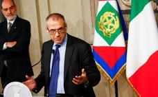 Italia se encomienda a un tecnócrata para intentar salir de la crisis política