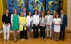 Los alcaldes del Grupo de Ciudades Patrimonio se reúnen con la directora general de la UNESCO en París