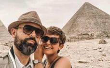 El impresionante viaje de Risto y Laura Escanes a Egipto