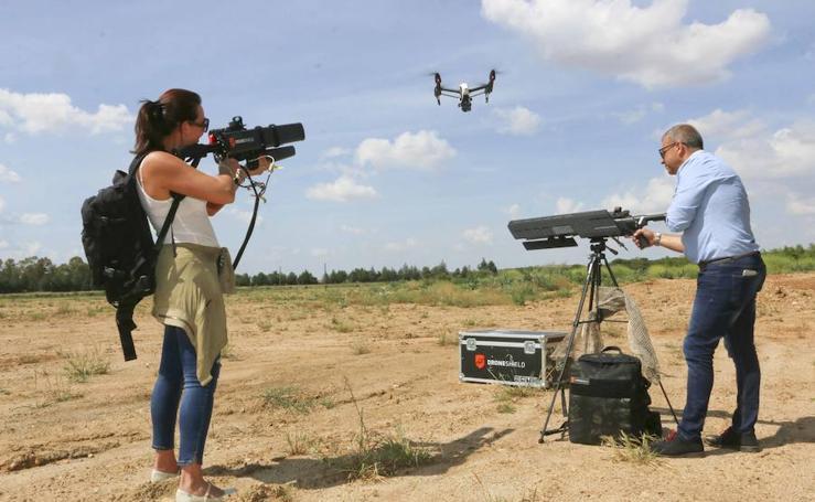 Los rifles antidrones llegan a Extremadura