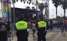 Más de 300 personas velarán por la seguridad durante Los Palomos