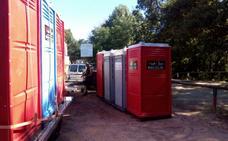 Nuevos baños públicos para la garganta Alardos