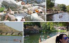 52 piscinas naturales y ríos que el SES aprueba para el baño