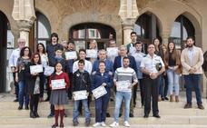 Entrega de los premios Jóvenes Creadores en Badajoz
