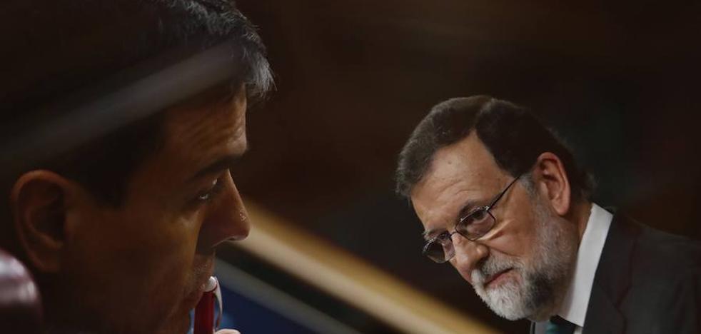 Los Presupuestos, Cataluña y la Constitución en el cara a cara entre Pedro Sánchez y Mariano Rajoy