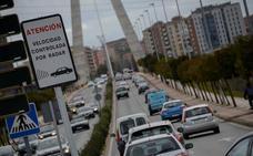 Ocho meses sin carné para un conductor que cruzó el puente Real de Badajoz a 114 km/h