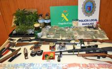 Detienen a siete personas en Badajoz, donde han desmantelado cinco puntos de cultivo y venta de marihuana