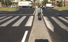 Las obras de señalización vial continuarán este lunes en Las Vaguadas